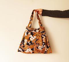 Vintage 1970s paisley Tote Bag