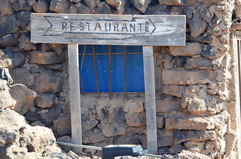 Restaurant, Isla de Lobos, Fuerteventura