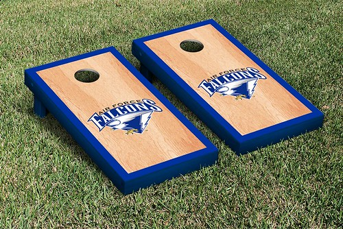 Air Force Academy Falcons Cornhole Game Set Hardcourt Wooden