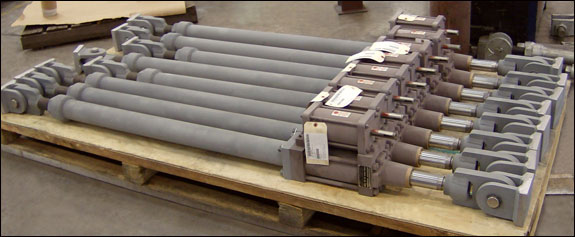 Hydraulic Snubbers Designed for an LNG Facility in Texas