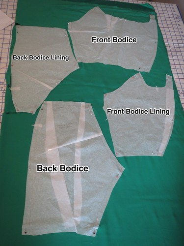 Final Bodice and Lining Pattern