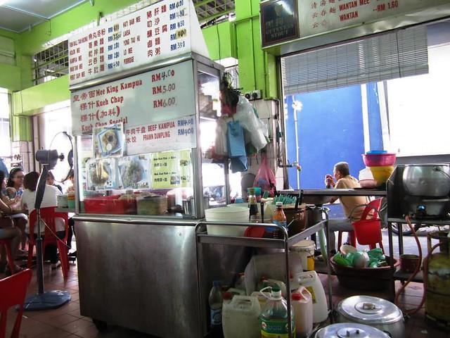Kiaw Hin, Sibu - stall