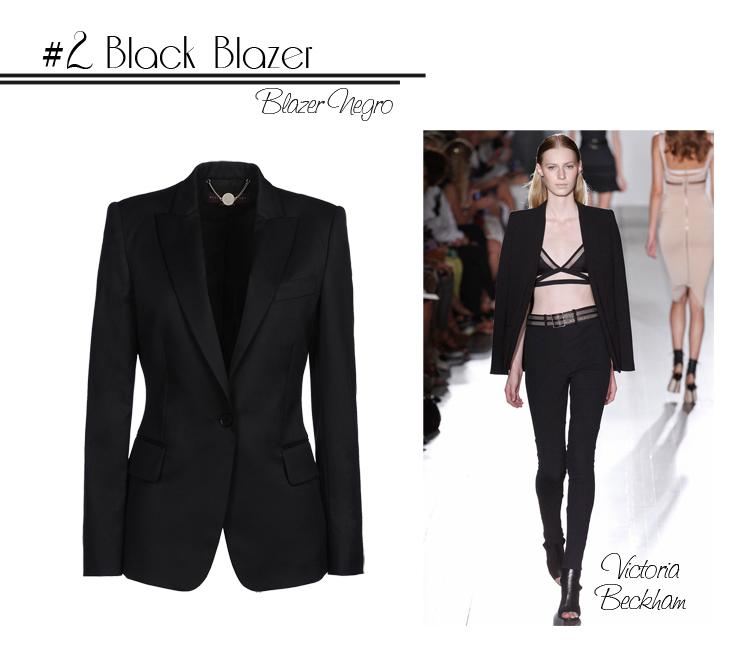 2 Black Blazer