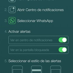 Whatsapp me persigue.