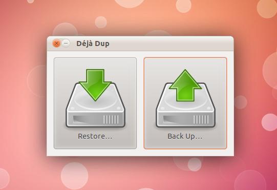 deja-dup Linux