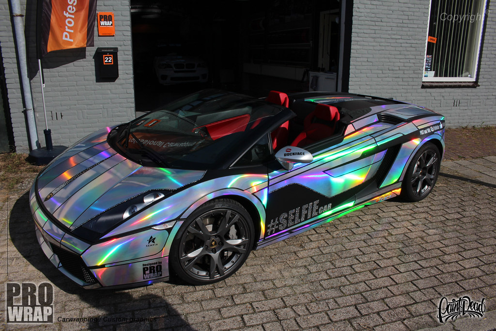 Oil Slick Car Paint