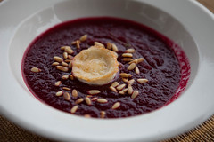 221/365: Beetroot soup