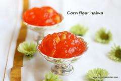 cornflour-halwa