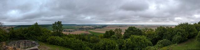 Panorama depuis le Mont Aimé