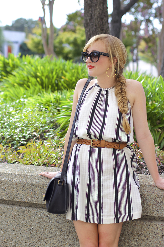 what to wear with a fishtail braid