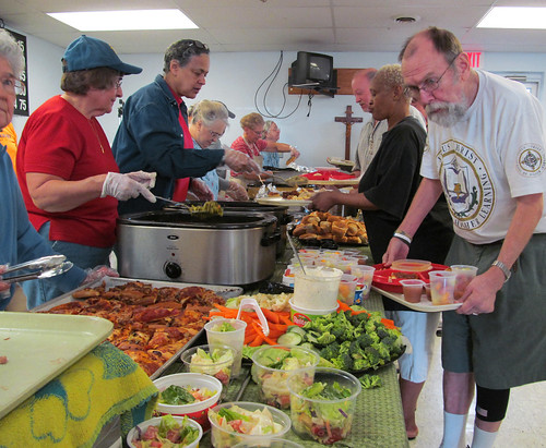 Food donated from local restaurants and supermarkets through coordination with the Food Donation Connection is used to make delicious & healthy meals served in homeless shelters and food pantries. Photo courtesy of Food Donation Connection.