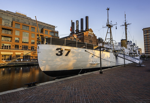 USCFC Taney at Sunrise by Geoff Livingston