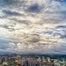 sunlight through clouds by BALAPAPAPA