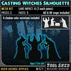 Tool Shed - Casting Witches Silhouette Mesh Kit Ad