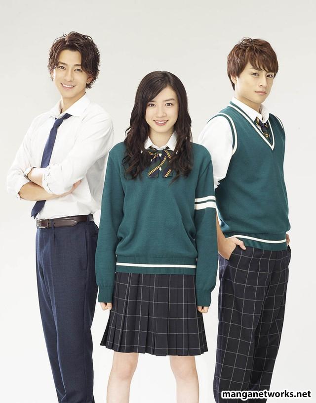 30215412701 37877b7ce2 o Live action Hirunaka no Ryusei hé lộ dàn diễn viên trai xinh gái đẹp trong phim