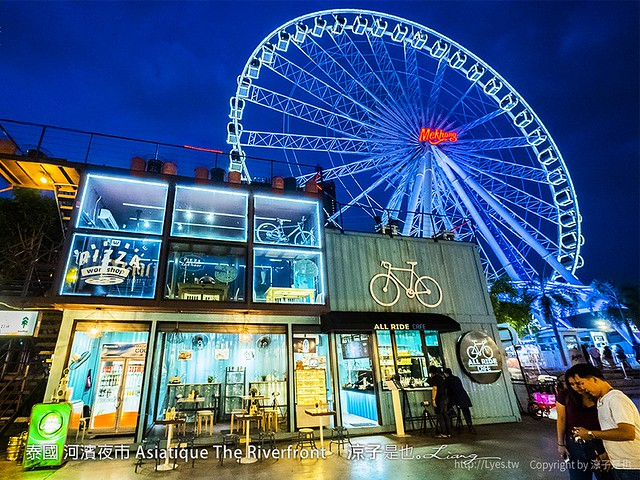 泰國 河濱夜市 Asiatique The Riverfront 90