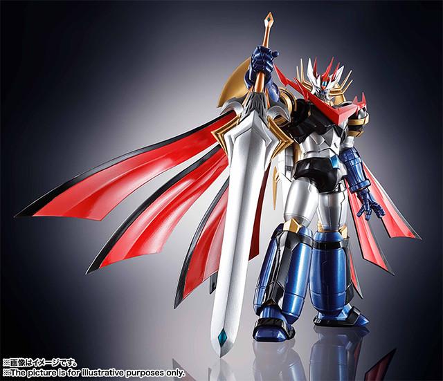 全新魔神最速立體化! SR超合金《超級機器人大戰V》 魔神皇帝G マジンエンペラーG