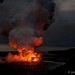 Kilauea Lava Flow by Doreen Bequary