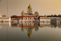 Today I began my trip from Delhi, India to the Himalayas in Kathmandu with @onthegotours . The Sikh Temple, Gurudwara Bangla Sahib is not only beautiful, they also serve over 10,000 free meals daily to anyone that comes. I am excited about this trip! #tra