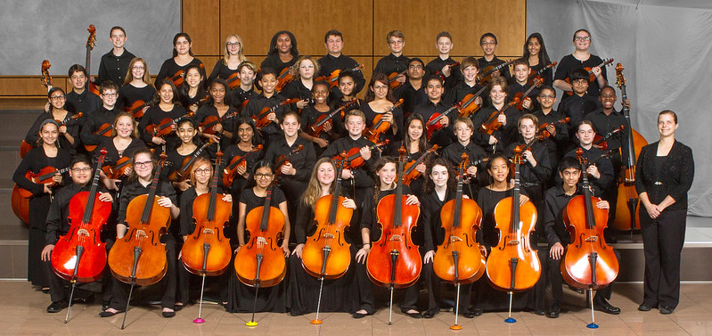 CMS Concert 2 Orchestra 2016-17