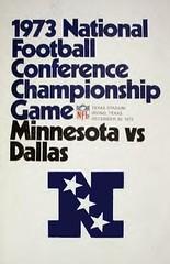1973 NFC Championship  Minnesota Vikings @ Dallas Cowboys