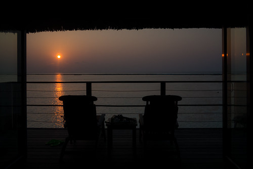 Birthday Morning -Maldives-