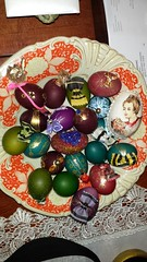 christmas decoration(0.0), holiday(0.0), produce(0.0), art(1.0), food(1.0), easter egg(1.0), easter(1.0),