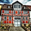 Older house in the city of Bad Salzungen, South-#Thuringia.