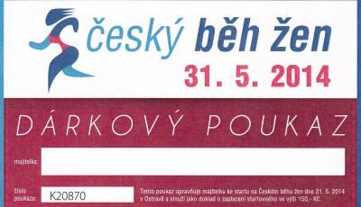 Český běh žen. Soutěžíme o 15 startovních čísel