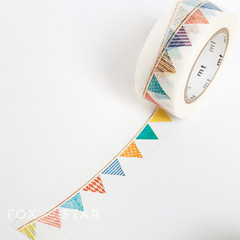 mt ex flag bunting washi tape