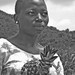 woman of Cape Coast & pineapples