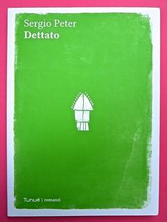 Romanzi, collana di Tunué edizioni. Progetto grafico di Tomomot; impaginazione di TunuéLab. Copertina [Peter] (part.), 1
