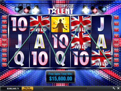 free Britain's Got Talent gamble feature