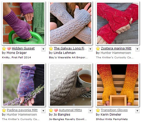 sock yarn - mitts