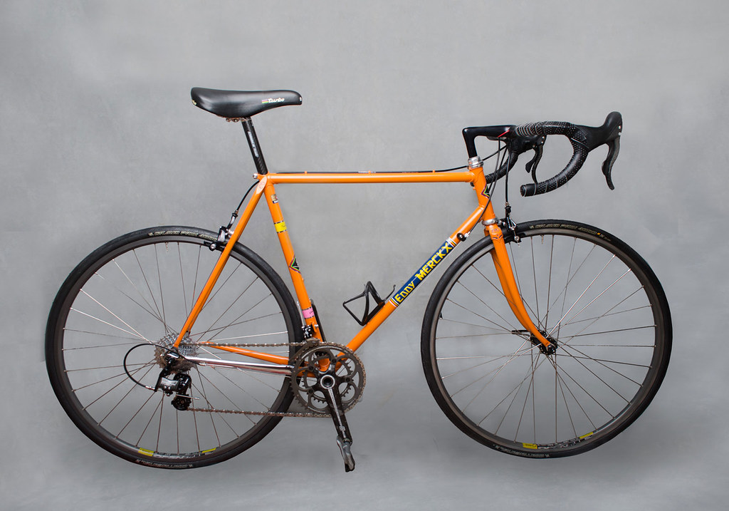 Eddy Merckx Professional Bicycle Frame, Molteni Team colors