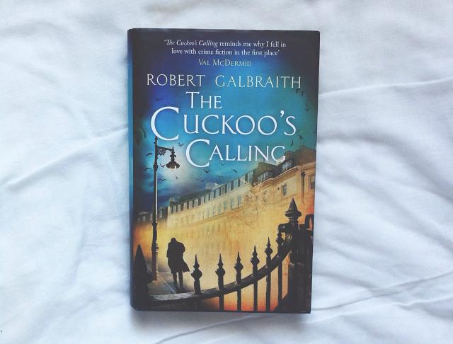 the cuckoos calling robert galbraith lifestyle blog vivatramp uk on my shelf tag