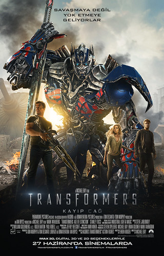 Transformers: Kayıp Çağ - Transformers: Age of Extinction (2014)