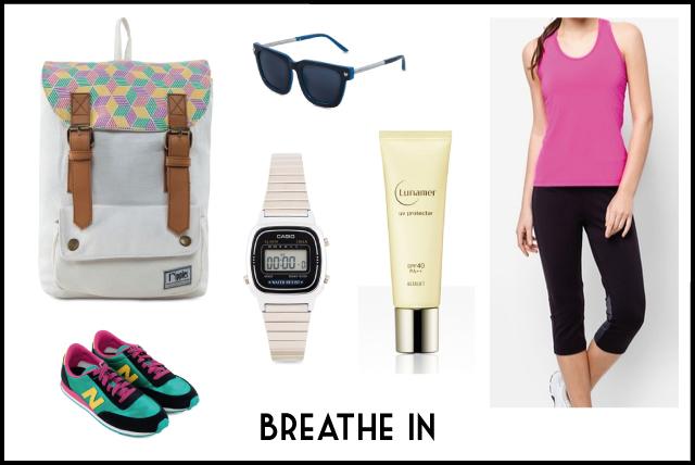 Bacpacks for Women - Breathe In