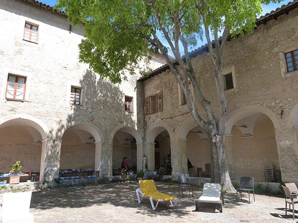 cloître du monastère de  Cimiez