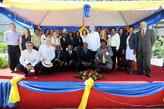 President Van Rompuy visit to Haiti