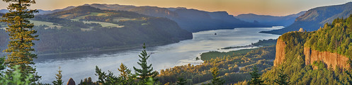 sunset panorama oregon portland columbiariver goldenhour columbiarivergorge vistahouse women'sforumpark