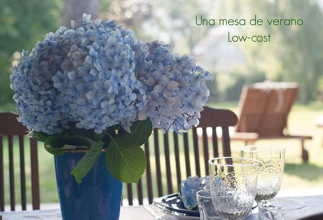 Mesa verano  low cost