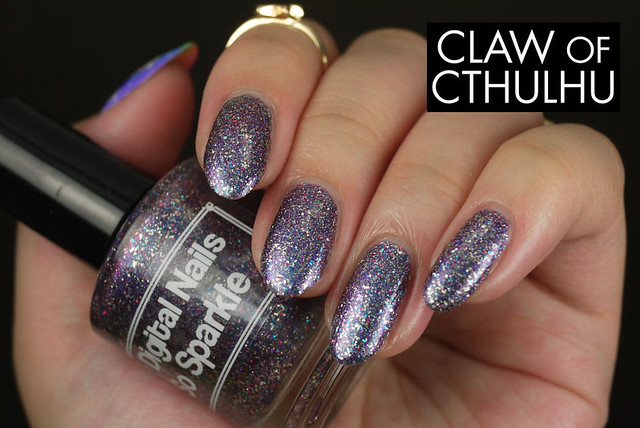 Digital Nails So Sparkle Swatch and Review