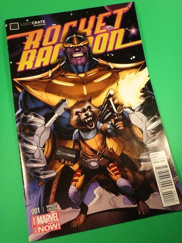 July 2014 Loot Crate: Rocket Racoon Exclusive
