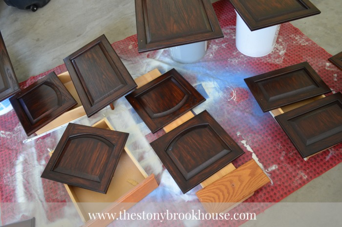 Coat #3 - General Finishes Gel Stain