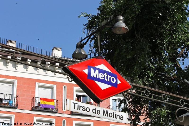 MADRID - Plaza de Tirso de Molina