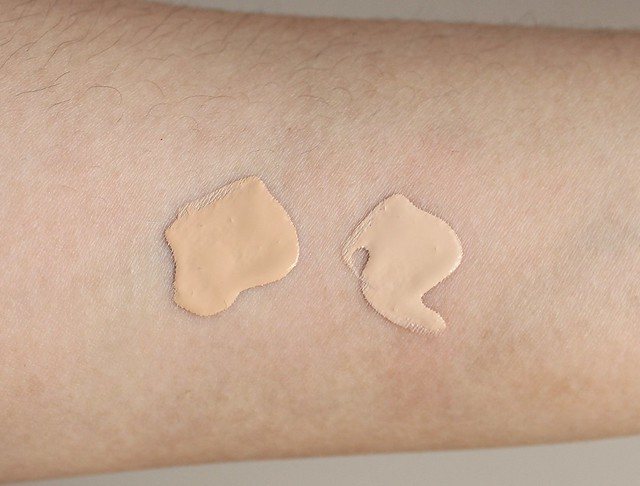 Maybelline Dream Wonder Fluid-Touch Foundation review and swatches