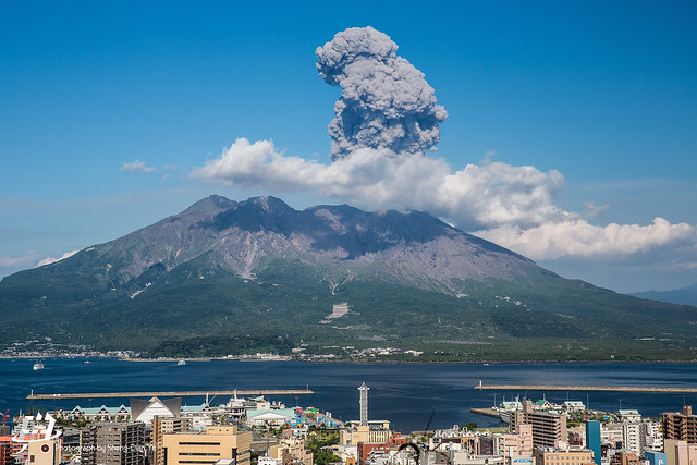 桜島火山爆發