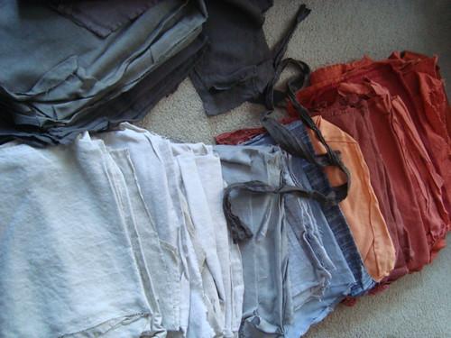 Manic WIP - Back fabrics