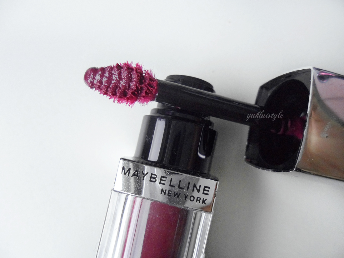 Maybelline Color Elixir Lip Color review and swatch